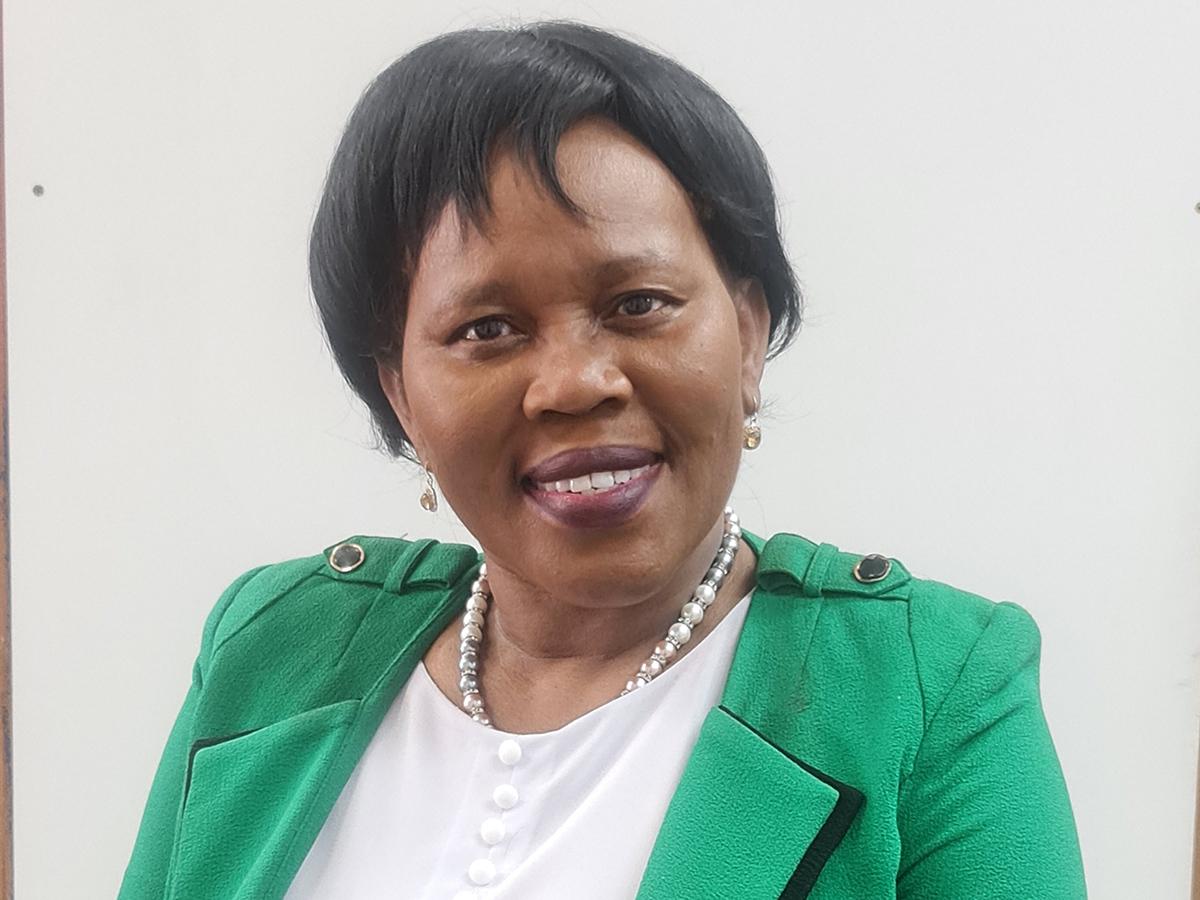 Dr Margaret Mojapelo, 62